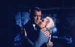 James Stewart and Kim Novak in a still from Vertigo, 1958